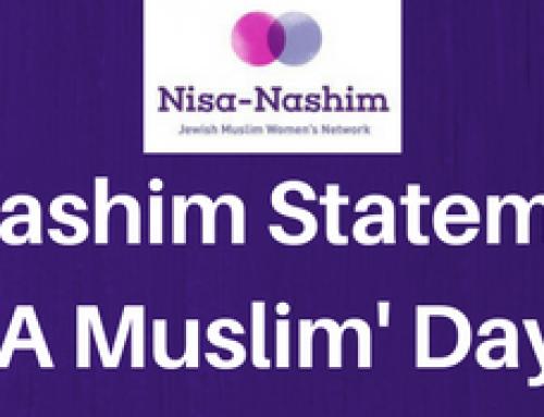 Nisa-Nashim Statement on Punish A Muslim Day