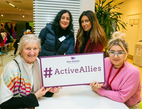 How can you become an #ActiveAlly