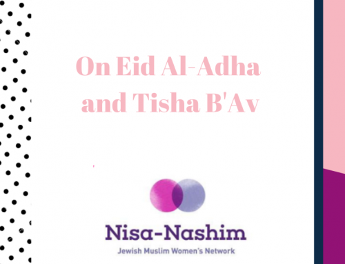 Islam and Judaism: Eid al-Adha and Tisha B'Av