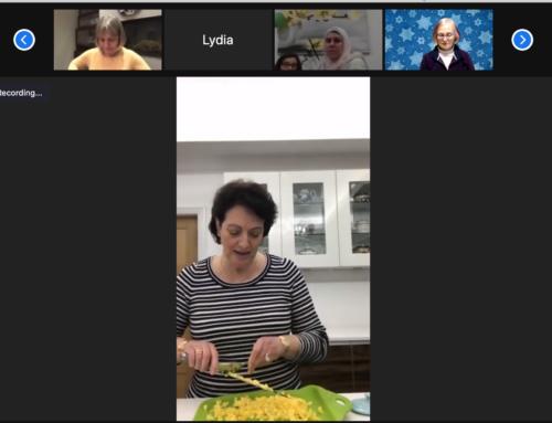 Passover 2021: Charoset filled Samosas for dinner!